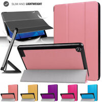 Slim Smart Case Cover For Tab Amazon Kindle Fire HD 8 (7th & 8th Generation)