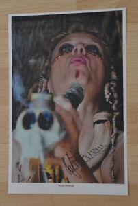 ORIGINAL Autogramm von Katja Riemann. pers. gesammelt 100% Echt. 20x30 Foto