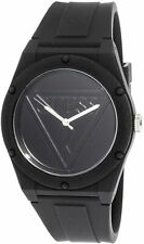 Guess Retro Pop Black Dial Silicone Strap Ladies Watch W0979L2