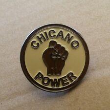 Lowrider Biker Hat Chicano Power Design Hat Button Badge Pin Metal