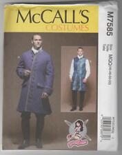McCall's Sewing Pattern M7585 Yaya Han Men's Cosplay Coat & Vest Costumes 46-52
