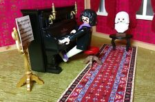 Playmobil 5551 VINTAGE Victorian Pianist Custom Set EUC Piano Plays Perfectly