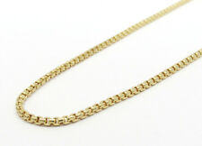 "Authentic 14k Yellow Gold Box Chain 20"" 1.7mm Wide"