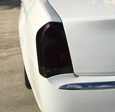 2015-2017 CHRYSLER 300 300C SMOKE TAIL LIGHT PRECUT TINT COVER SMOKED OVERLAYS