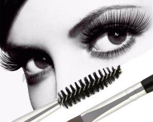 Black Double-head Angled Mascara Brush Makeup Brushes Make Up Brush