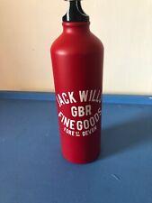 Jack Wills Red Large Refillable Metal Water Bottle