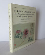 Studies in Connoisseurship: Chinese Paintings 1987 Fu HUGE HARDCOVER Art China