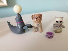 Kenner Littlest Pet Shop vintage lot animals dog cat seal