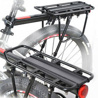 Bike Bicycle Quick Release Luggage Seatpost Pannier Carrier Rear Rack Fender#
