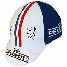 CYCLES PEUGEOT RETRO VINTAGE MADE IN ITALY CYCLING TEAM SUMMER BIKE HAT CAP