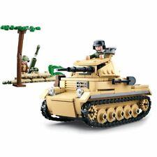 Sluban 0691 - WWII - Deutscher leichter Panzer - Neu