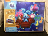 Nickelodeon Blue/'s Clues 5 Pack Wooden Puzzles with Storage Box