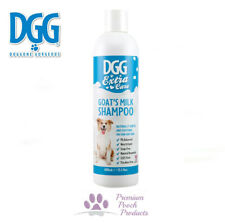 DGG Extra Care GOAT'S MILK Dog Shampoo, Natural Ingrds - Conditioning & Gentle