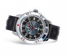 Vostok Komandirskie 431831 /2414 Military Russian Watch U-boot Submarine Black
