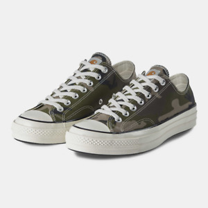 Converse X Carhartt WIP Chuck 70 OX Camouflage Canvas 165559C Green/Black NWB
