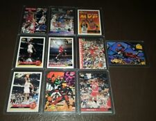 Michael Jordan Basketball Trading Cards Lot