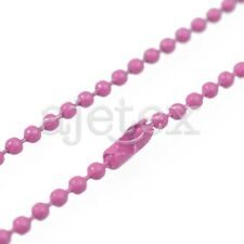 "1.5/2.4mm DIY Metal Bead Ball Chain Long Necklace Bracelet 70cm/28"" Hot sale"