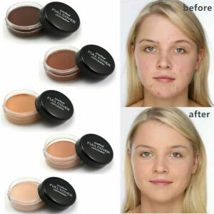 Hide Blemish Face Full Covearge Concealer Primer Foundation Creamy Makeup