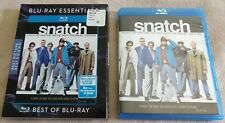 Snatch (2000) Blu-Ray [Region Free] + Blu-ray Essentials Slipcover