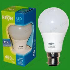 4x 7W LED GLS Ultra Low Energy Instant On Light Bulb Bayonet BC B22 Globe Lamp