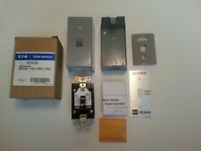 Eaton MST01SN MS Series Toggle Operated Manual Motor Starter (NIB) (369D454G01)