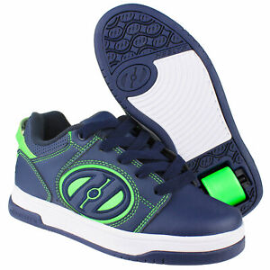 Heelys Voyager Trainers with Rolls Shoes Rollenschuhe Navy Blue HE100606