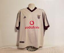 Adidas S.L. Benfica E Pluribus Unum Mens Large Portugal Cream Soccer Jersey