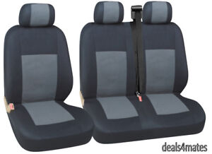 QUALITY FABRIC SEAT COVERS SET FIAT SCUDO DUCATO NEW