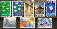 Iceland Year Set 1977 Complete - All Issues - Used - XF/VF