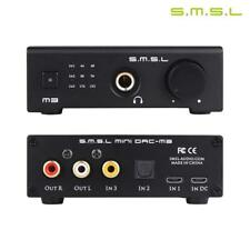 SMSL M3 USB DAC AMP Multi-function Optical Coaxial Headphone Amplifier Black