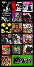 "MISFITS album discography magnet (4.5"" x 3.5"") punk rock glenn danzig"