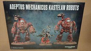 RARE Warhammer 40k 59-16 Adeptus Mechanicus KASTELAN ROBOTS NEW/SEALED