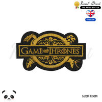 Game of Thrones GOT Embroidered Iron On Sew On PatchBadge For Clothes Bags Etc