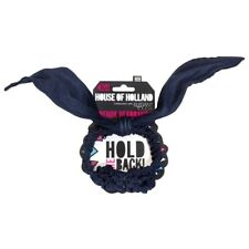 House of Holland Hold Me Back Hair Denim Headband Elegant/Touch/Blue/Bunny/NEW