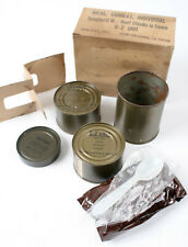 Vtg Con Pac Inc. C-Ration Meal, Combat, Individual Spaghetti B-2 Unit - Read!