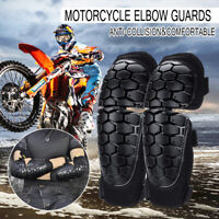 Motorcycle Knee and Elbow Shin Pad Guards Brace Riding Skiing Protector Gear