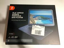 "TaoTronics Tt-Ee010 15.6"" Portable Dvd Player with Swivel Screen Black Open box"