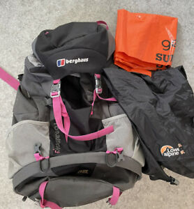 Berghaus Torridon Ladies Large 60 L Backpack Rucksack plus Liner VGC