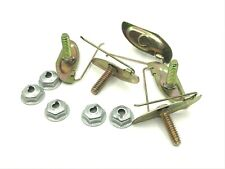 5 Yellow Zinc Trim Clips Amp Nuts For 1 To 1 18 Wide Moulding Studebaker Fits Studebaker