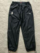 Puma Vintage Mens Tracksuit Pants Trousers Black Training
