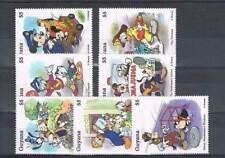 Serie Disney postfris MNH Guyana: Mickey Donald Goofy Pluto (dis082)