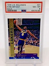 1998 Upper Deck Kellogg's 21 Kobe Bryant Los Angeles Lakers PSA 8 POP 1, RARE🔥