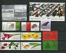 Iceland Fine Selection of Stamps 2005 Issues MNH  - FREE SHIPPING
