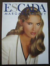 ESCADA Catalog JUDIT Masco YASMEEN Ghauri CLAUDIA Mason HEATHER Stewart-Whyte