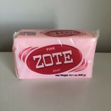 Zote Pink Soap Large Bar 14.1oz per Delicates Safe Soap for Stains 400g per