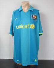 Barcelona 2007-09 Away Camiseta Nike Fútbol Jersey Tamaño Xxl * como Nuevo *