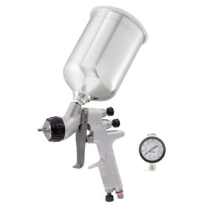 DeVilbiss GPG Solvent Gravity Gun Kit with 900mL Cup 905012 - 1.3 1.5 1.8 Tip