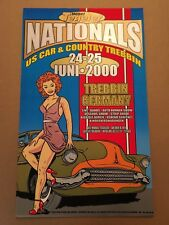 Chuck Sperry - Firehouse Mobel Tegeler Nationals Poster Classic Car Germany
