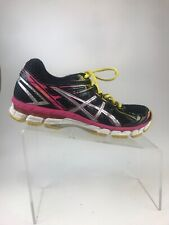 ASICS GT-2000 Womens Size 8.5 Black Pink Silver Shoes T3P8N