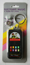 VINTAGE 80'S ECHO KILLER ELECTRONIC GUN SOUNDS KEY CHAIN TAIWAN NEW NOS !